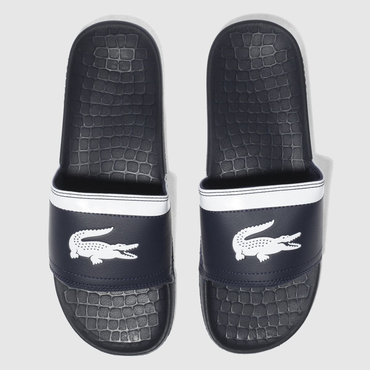 Lacoste Navy & White Fraisier Sandals