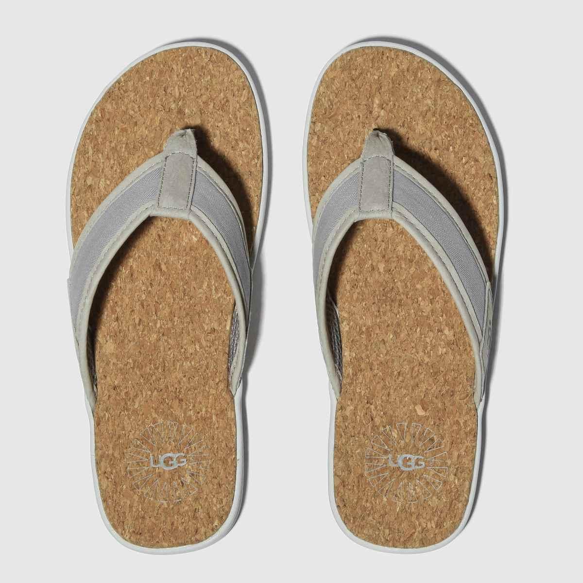 Ugg Grey Seaside Flip Sandals