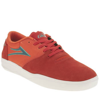 Mens Lakai Orange Pacer Trainers