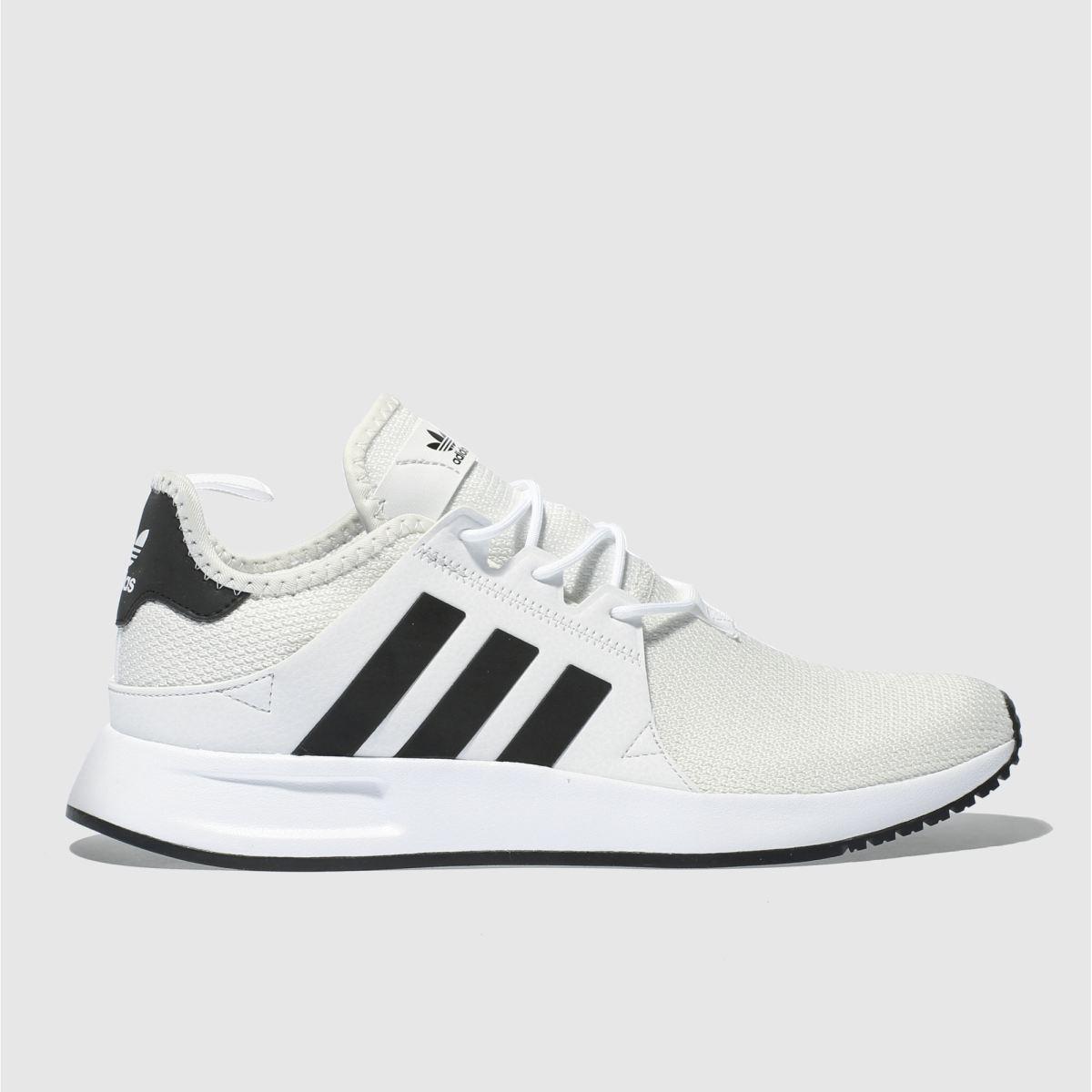 Adidas White & Black X_plr Trainers
