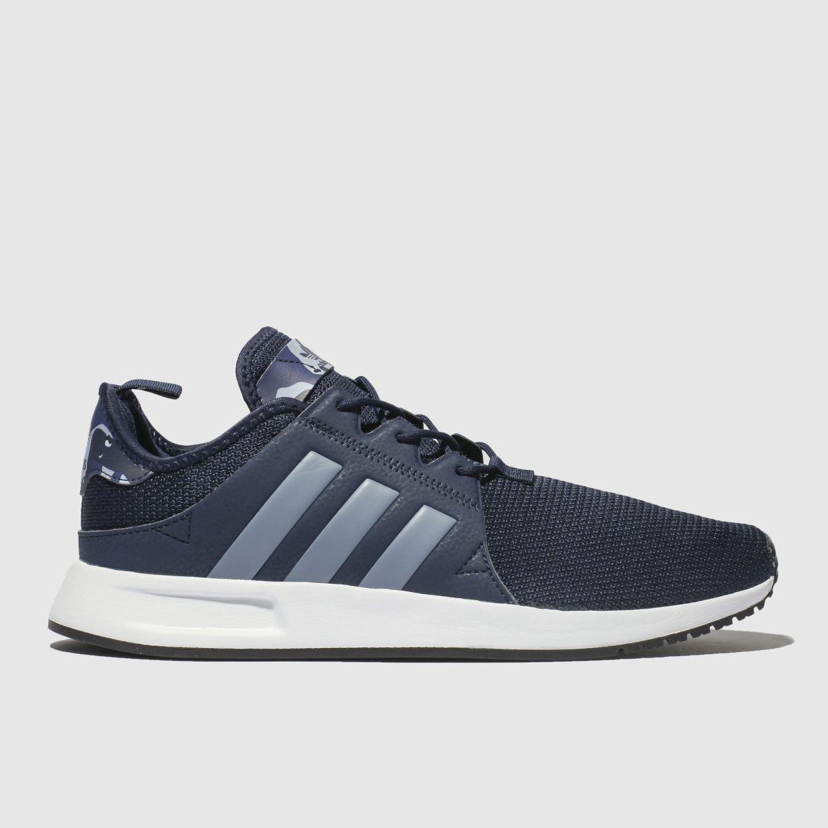 Adidas Navy & Pl Blue X_plr Trainers