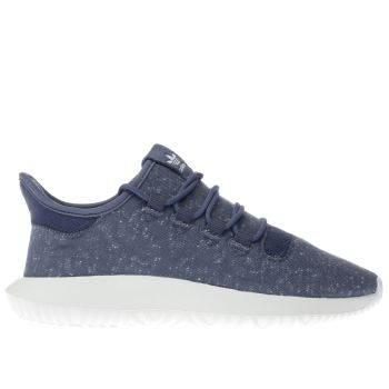 Adidas Navy Tubular Shadow Mens Trainers