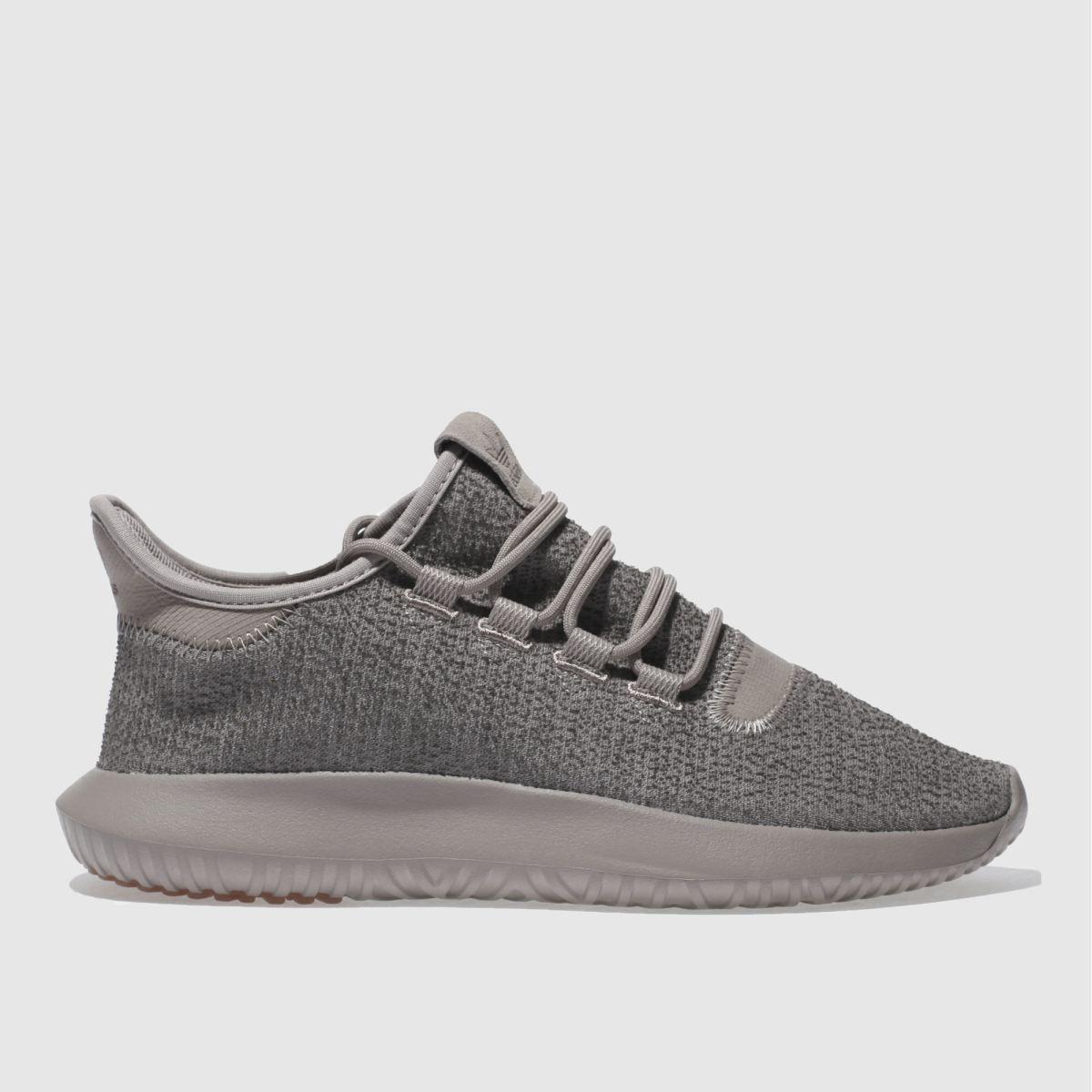 adidas light taupe tubular shadow trainers
