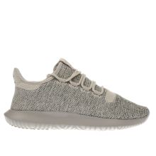 Adidas Beige Tubular Shadow Knit Mens Trainers