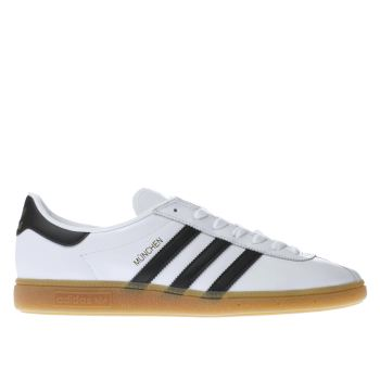 Adidas White Munchen Mens Trainers