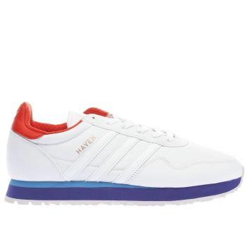 Adidas White Haven Mens Trainers