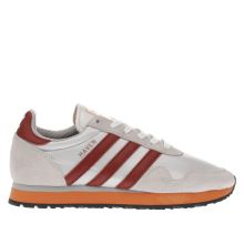 Adidas White & Red Haven Mens Trainers