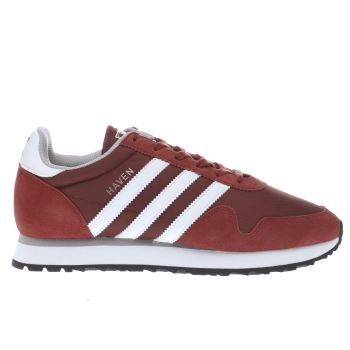 Adidas Red Haven Trainers