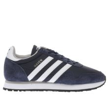 Adidas Navy & White Haven Mens Trainers