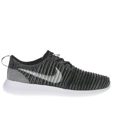 Nike Black & Grey Roshe Two Flyknit Mens Trainers