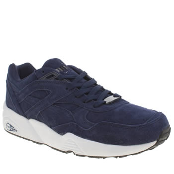 Puma Navy R698 Trainers