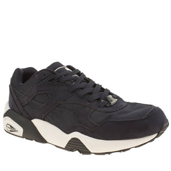 Puma Navy & White R698 Trinomic Trainers