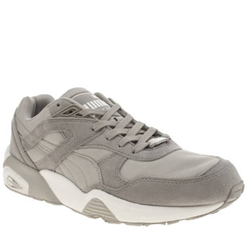 Puma Light Grey R698 Trinomic Trainers