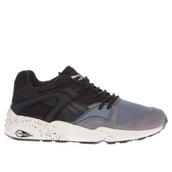 Puma Navy Blaze Winter Tech Mens Trainers
