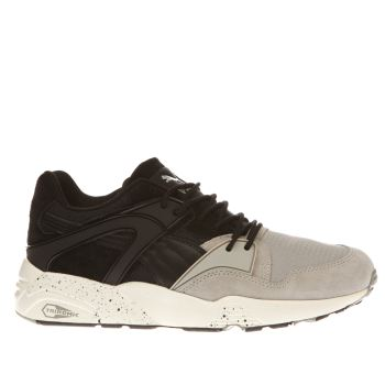Puma Black Blaze Winter Tech Mens Trainers