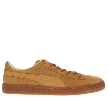 Puma Tan Basket Classic Winterized Trainers