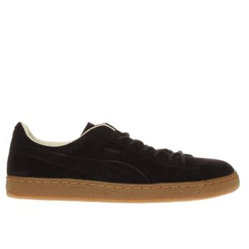 Puma Black Basket Classic Winterized Mens Trainers