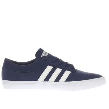 Adidas Navy & White Sellwood Mens Trainers