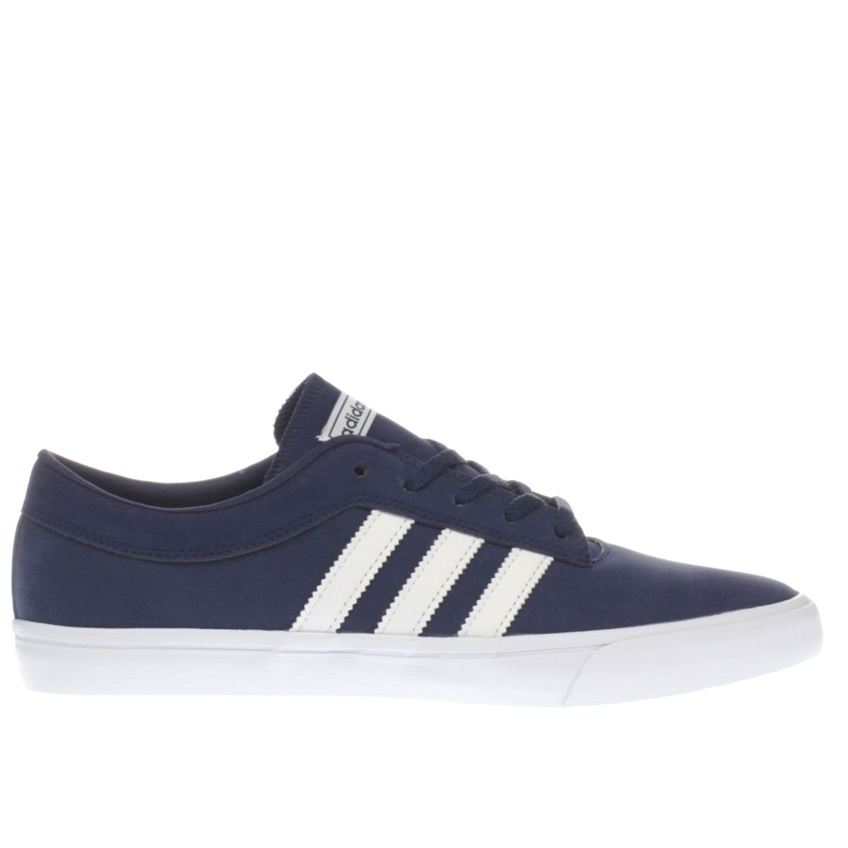 adidas navy & white sellwood trainers