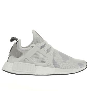 Adidas White Nmd_xr1 Trainers