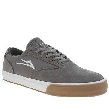 Mens Lakai Dark Grey Guymar Trainers
