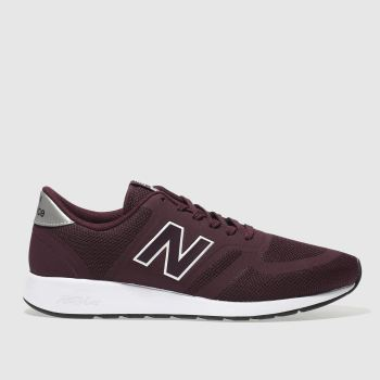 New Balance Burgundy 420 Trainers