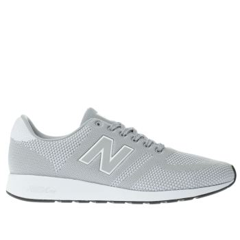 New Balance Light Grey 420 Trainers