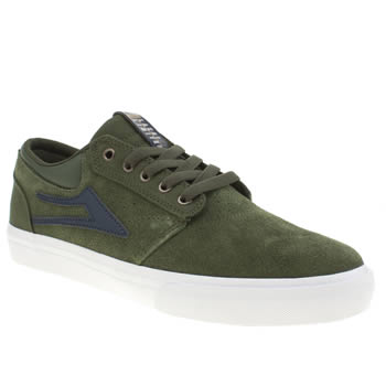 Mens Lakai Dark Green Griffin Trainers