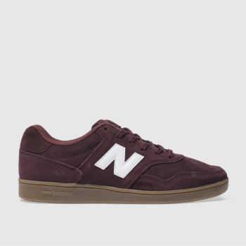 New Balance Burgundy 288 Mens Trainers