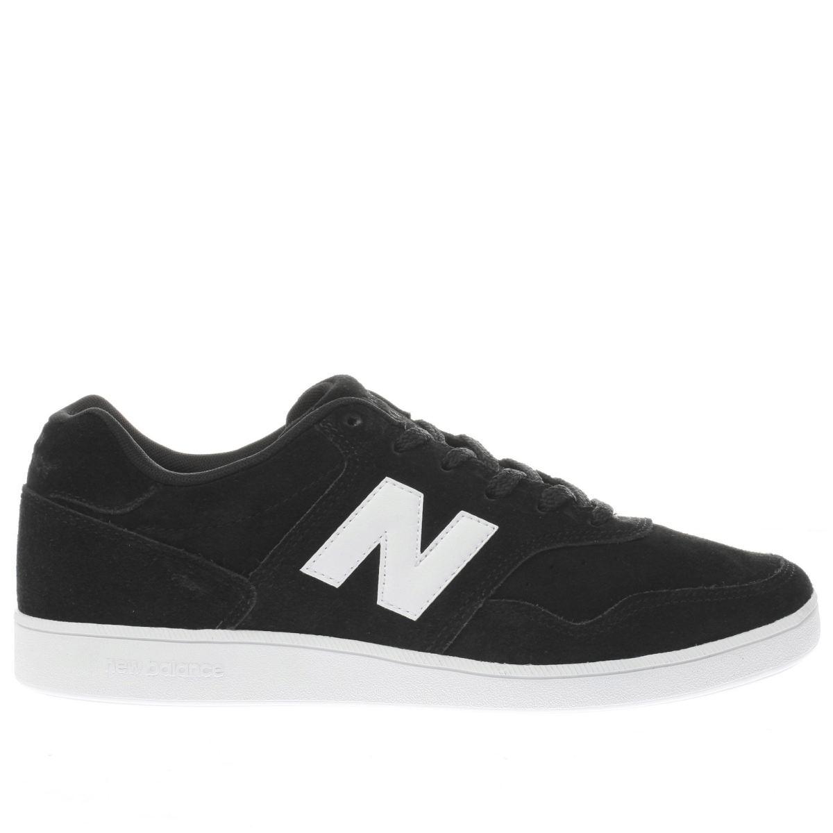 new balance black & white 288 trainers