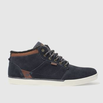 Etnies Navy Jefferson Mid Mens Trainers
