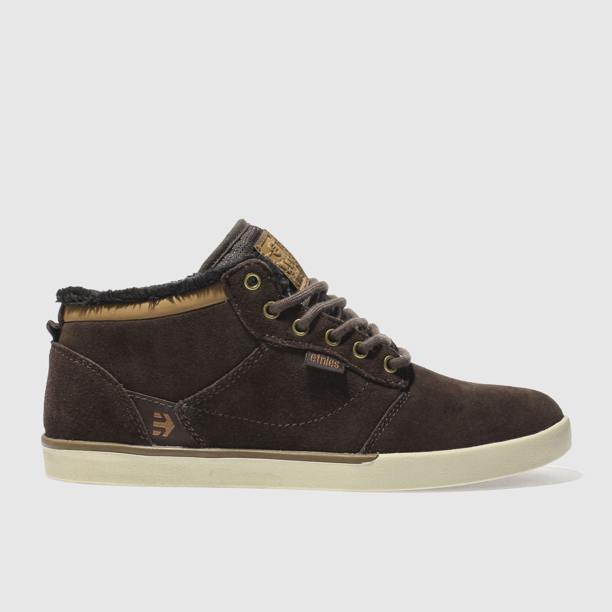 Etnies Etnies Brown Jefferson Mid Trainers