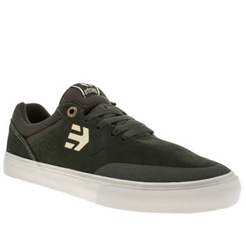 Mens Etnies Dark Green Lo-cut Ii Slim Trainers