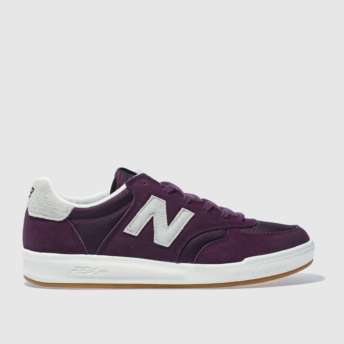 new balance purple 300 trainers