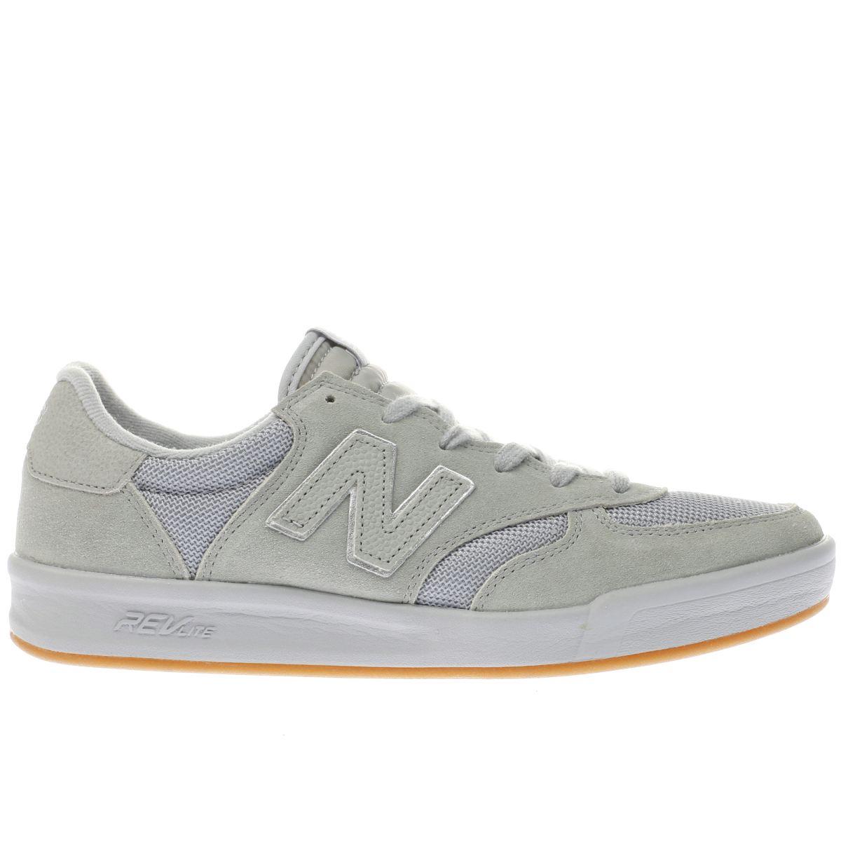 new balance light grey 300 trainers