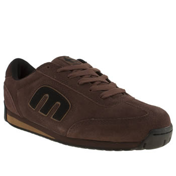 Etnies Brown & Black Lo Cut Ii Trainers