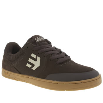 Etnies Dark Brown Marana Trainers