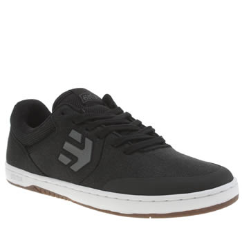 Mens Etnies Black Marana Trainers