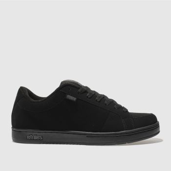 Mens Etnies Black Kingpin Trainers