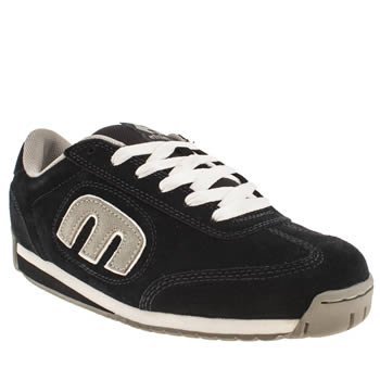 mens etnies navy & grey lo-cut ii trainers