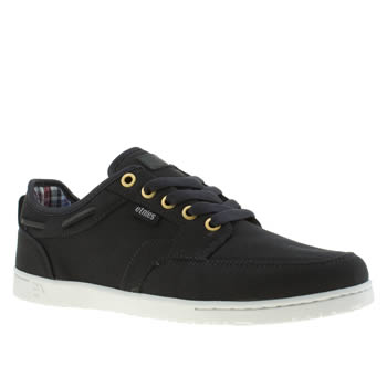 Mens Etnies Navy Dory Trainers