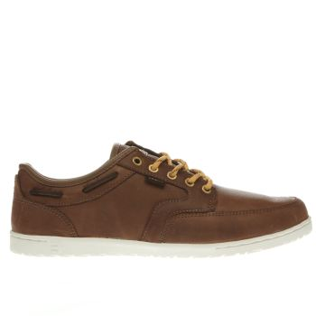 Mens Etnies Brown Dory Trainers