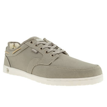 mens etnies light grey dory trainers