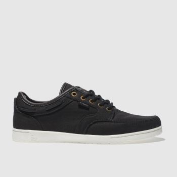 Etnies Black & Brown Dory Trainers