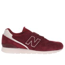 New Balance Burgundy 996 Mens Trainers