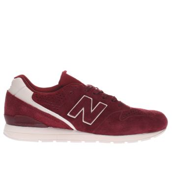 New Balance Burgundy 996 Trainers
