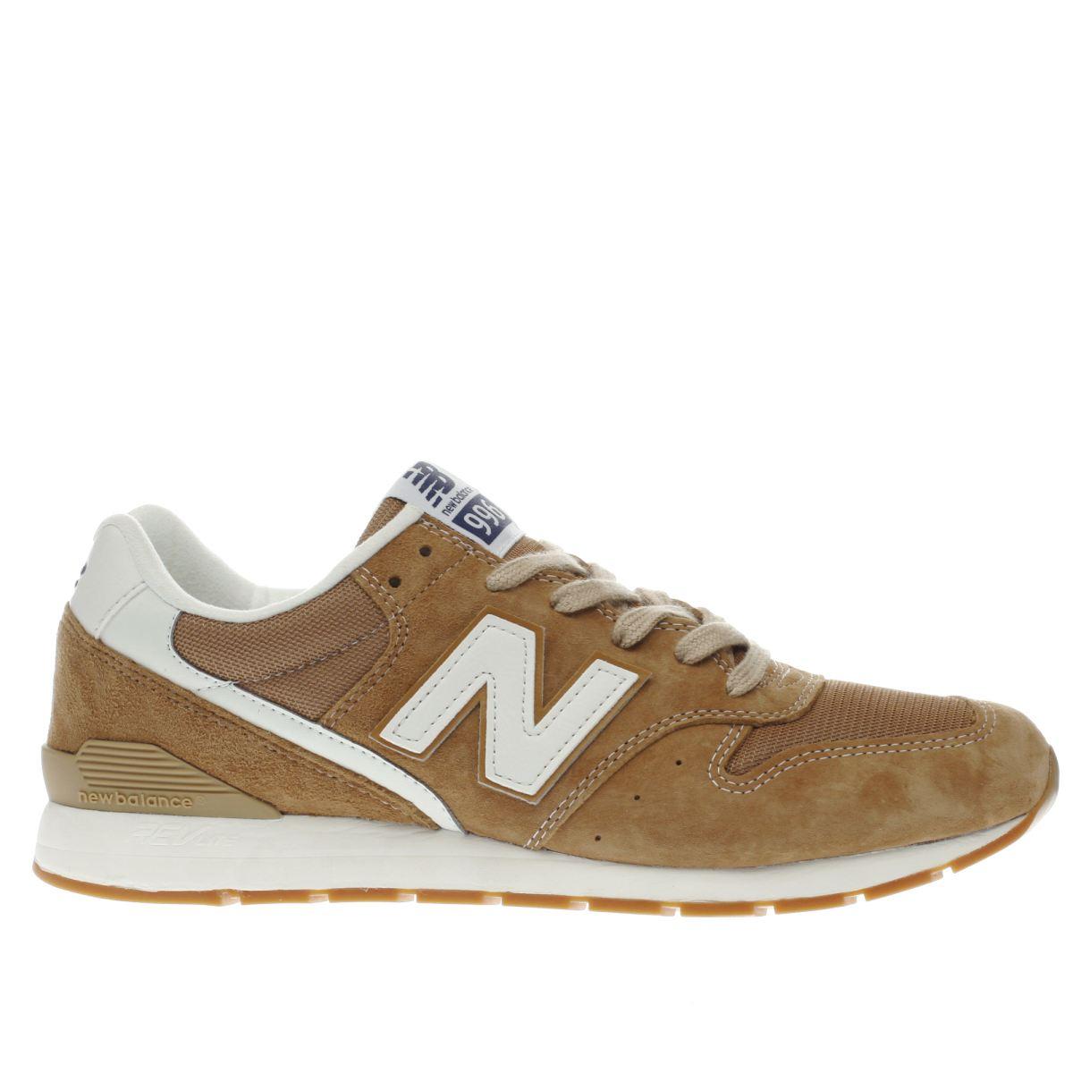 new balance tan 996 trainers