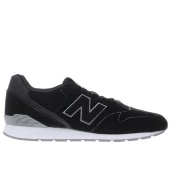 New Balance Black & Grey 996 Trainers