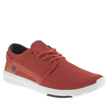 Etnies Red Scout Mens Trainers