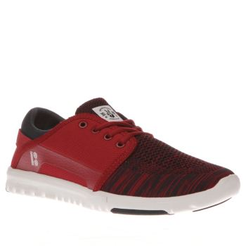 Etnies Red Scout Yb Trainers